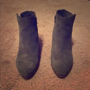 Sole Society Olive Green Ankle Boots
